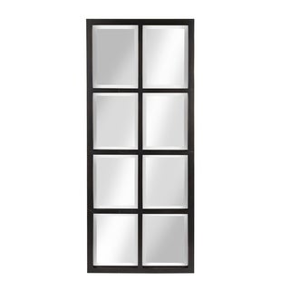 Kate and Laurel Stryker 8-pane Window Framed Wall Mirror