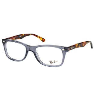 Ray-Ban RX 5228 5629 Opal Grey Plastic Rectangle Eyeglasses