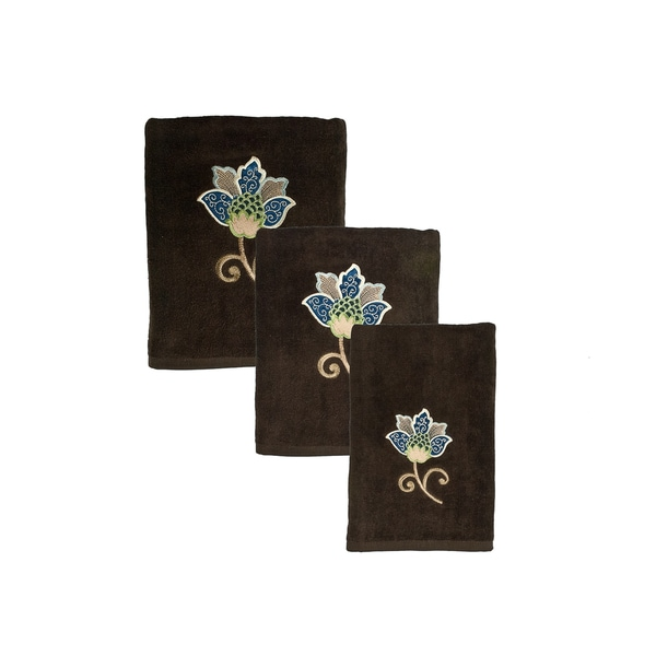 Sherry Kline Jacqueline 6-piece Embroidered Towel Set