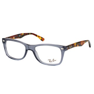 Ray-Ban RX 5228 5629 Opal Grey Plastic 53-millimeter Rectangle Eyeglasses