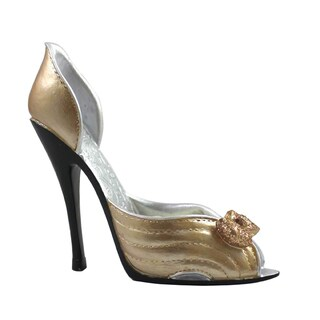 Gold Mini Shoe Ring Holder