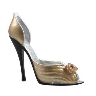 Gold Mini Shoe Ring Holder