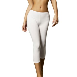 Miorre Women's Capri-length Basic Leggings