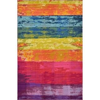Unique Loom Turkish Barcelona Multicolored Polypropylene Rug (10'5 x 16'4)