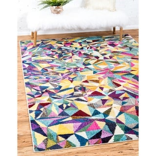 Unique Loom Turkish Barcelona Multicolored Polypropylene Rug (10'5 x 16'4)