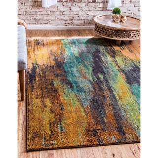 Turkish Barcelona Multi-colored Polypropylene Rug (10'5x16'4)