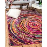 Unique Loom Aragon Barcelona Area Rug