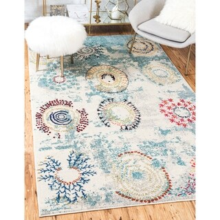 Turkish Barcelona Beige Polypropylene Rug (10'5x16'4)