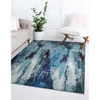 Unique Loom Iris Jardin Area Rug