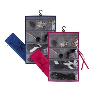 Home Basics Foldable Waterproof Hanging Travel Accessories Bag
