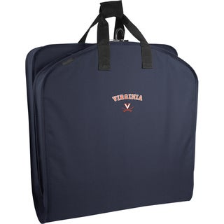 WallyBags Virginia Cavaliers Navy Polyester 40-inch Garment Bag