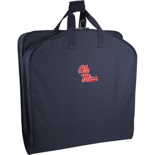Wally Bags Ole Miss Rebels Blue Polyester 40-inch Garment Bag