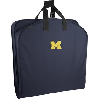 Wally Bags Michigan Wolverines Blue Polyester 40-inch Garment Bag