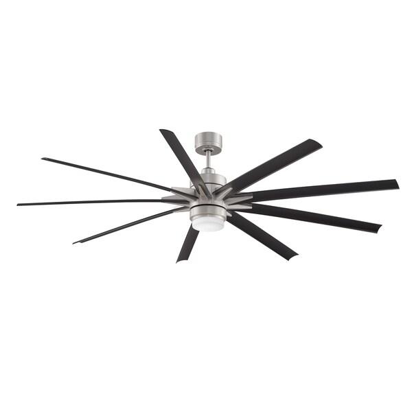 Odyn Ceiling Fan With LED Downlight