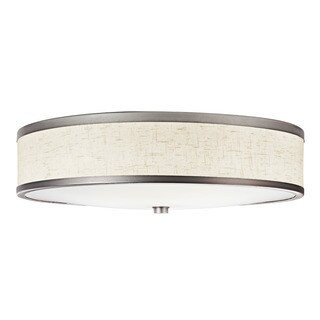 Kichler Lighting Transitional 3-light Champagne Flush Mount