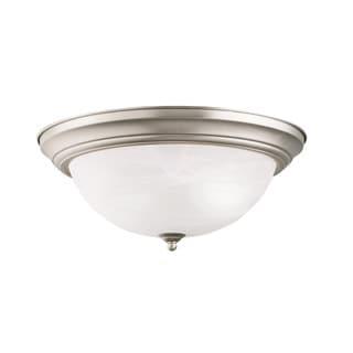 Kichler Lighting Transitional 3-light Brushed Nickel Flush Mount