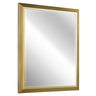 Kichler Lighting Transitional Natural Brass Wall Mirror