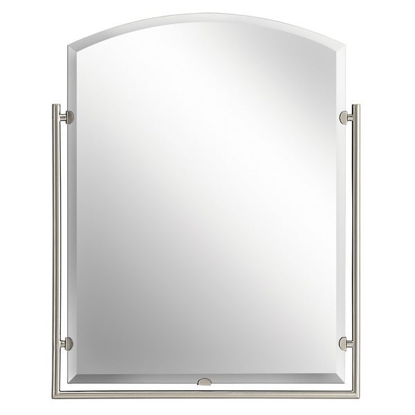 Kichler Lighting Structures Collection Brushed Nickel Wall Mirror - Brushed Nickel - A/N