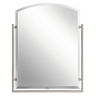 Kichler Lighting Structures Collection Brushed Nickel Wall Mirror