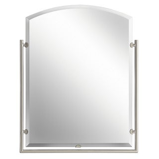 Kichler Lighting Structures Collection Brushed Nickel Wall Mirror - Brushed Nickel