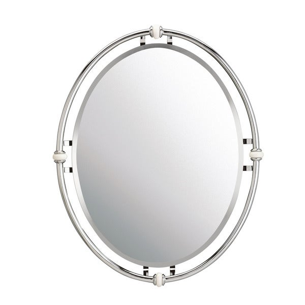 Kichler Lighting Pocelona Collection Chrome Wall Mirror