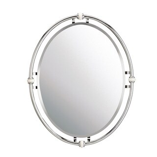 Kichler Lighting Pocelona Collection Chrome Wall Mirror - Silver - N/A