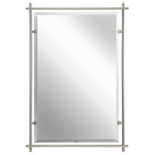 Kichler Lighting Eileen Collection Brushed Nickel Wall Mirror - Silver/Brushed Nickel - N/A