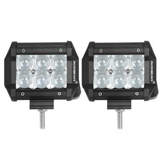 AuxBeam Cree 4-inch 18-watt Spot Beam Offroad Truck LED Light Bar With 5D Projector Lens (Set of 2)