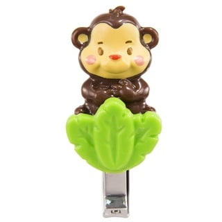 Sassy Soft Grip Monkey Plastic Nail Clippers
