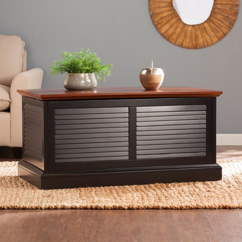 Upton Home Allete Louvered Trunk Coffee/ Cocktail Table