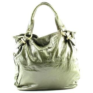 Latico Women's Holly Satchel Green Leather Handbag