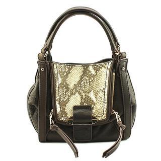 Kooba Women's Jonnie Satchel Brown Leather Handbag