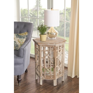 Powell Huntington Driftwood Accent Table