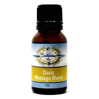 """Oasis"" Muscle Massage Essential Oil Blend - 15ml"