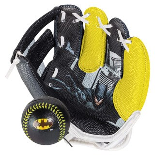 Franklin Sports Air Tech Batman Glove/Ball Set