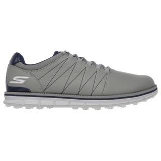 Skechers Men's Go Golf Tour Elite Charcoal/ Navy Golf Shoes