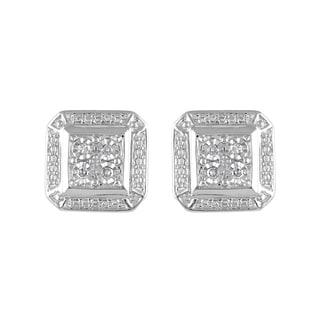 925 Sterling Silver 1/10ct T.W. Fashion Earring (I-J, I2-I3)