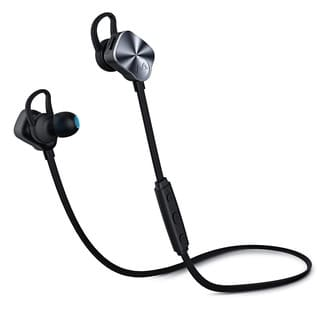 Mpow Bluetooth Headphones V4.1 Noise Cancelling Wireless Sport Earbud Headphones with Mic (Option: Silver)