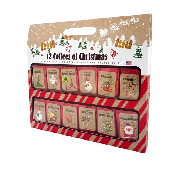 Coffees of christmas gift set free shipping on orders