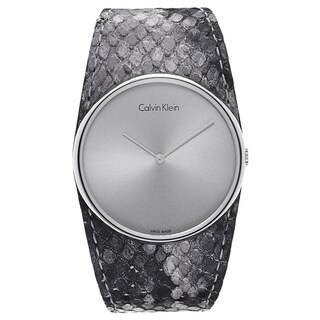 Calvin Klein Women's Silvertone Watch