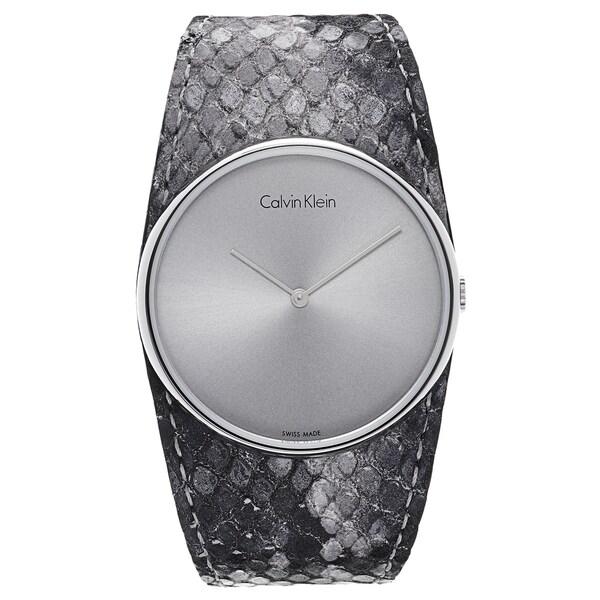 Calvin Klein Women's Silvertone Watch