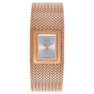 Calvin Klein Women's Goldtone/Silvertone Gold/Mineral Watch