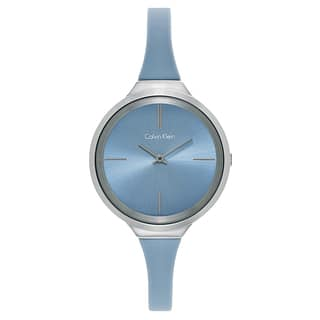 Calvin Klein Women's Blue Watch|https://ak1.ostkcdn.com/images/products/12058682/P18928461.jpg?impolicy=medium