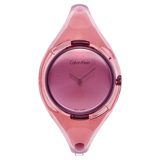Calvin Klein Women's Pink Watch