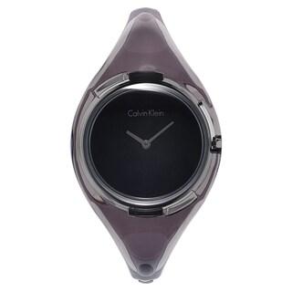 Calvin Klein Women's Black/Grey Mineral Watch