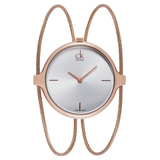 Calvin Klein Women's Gold Metal Quartz Watch