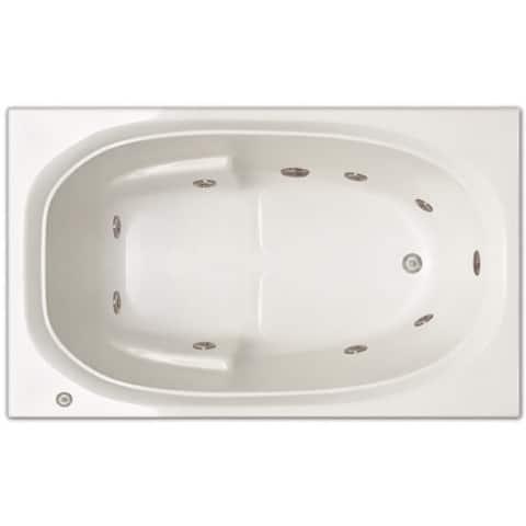 Signature Bath 60-inch x 36-inch x 19-inch Drop-in Whirlpool tub
