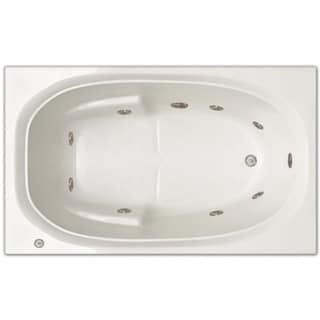 signature bath 60 inch x 36 inch x 19 inch drop in whirlpool tub