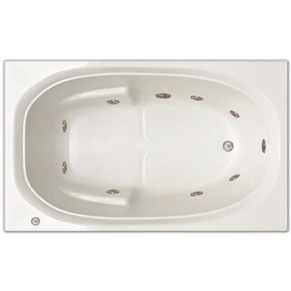 Signature Bath 60-inch x 36-inch x 19-inch Drop-in Whirlpool tub