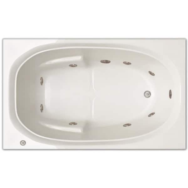 Signature Bath 60 Inch X 36 Inch X 19 Inch Drop In